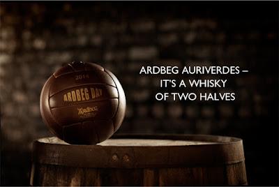 Landing page Ardbeg website