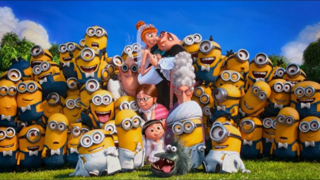 Best Lucy Gru Wedding Party Despicable Me Minions Fun Hd Wallpapers