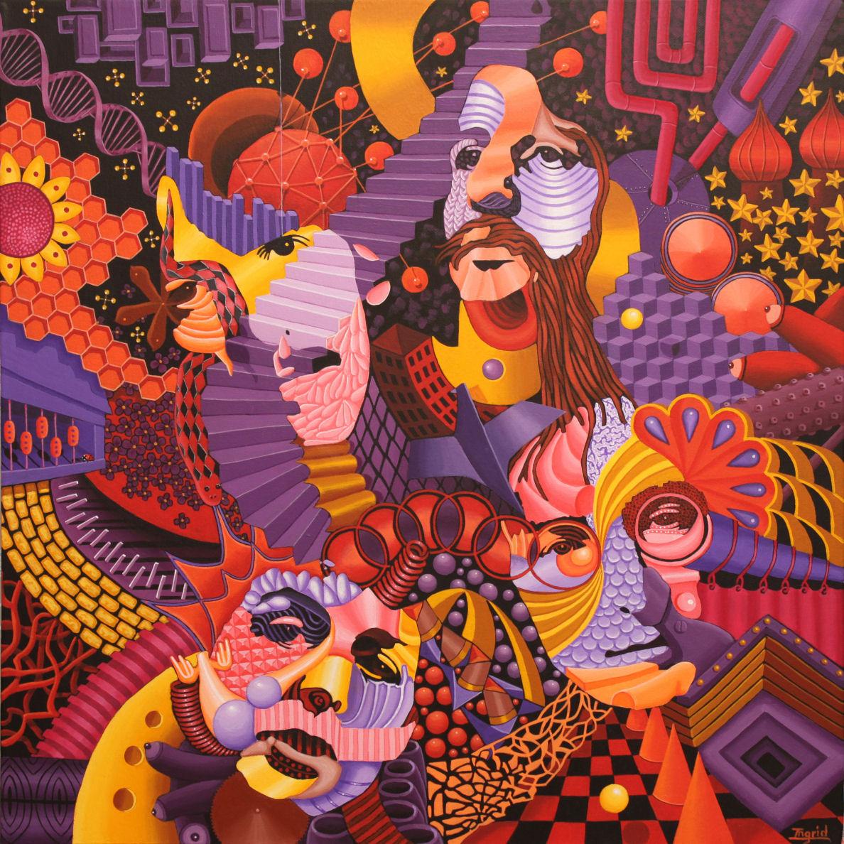 Fan Art - British Beatles Fan Club