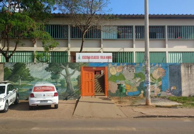 Tiroteio dentro da Escola Classe Vila Nova deixa alunos e professores em pânico