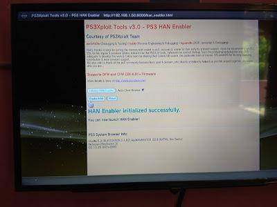 Mengubah PS3 OFW Menjadi PS3 HAN Offline 17