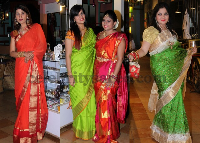 Hyderabad Ladies at Ugadi Celebrations