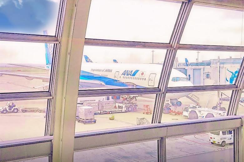 ANA 全日空航空,使用風格濾鏡