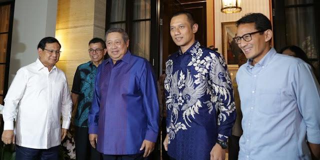 Ini Satu Faktor Penyebab Demokrat Tidak Serius Menangkan Prabowo-Sandi