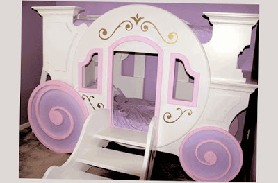 Cool Bunk Beds For Girls For Sale Simple and Creative Purple Color Photo