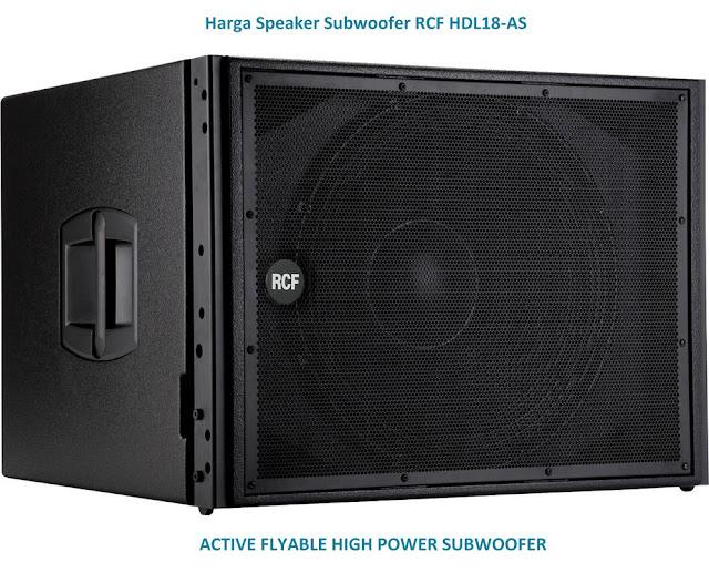 Harga Speaker RCF HDL-18AS Subwoofer 18 inch Aktif