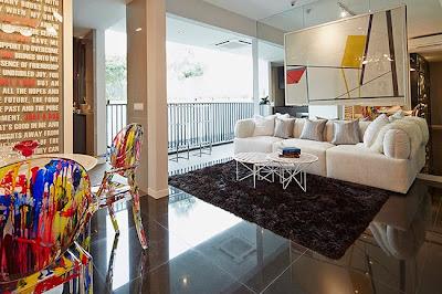 Sky Vue Bishan - Living room