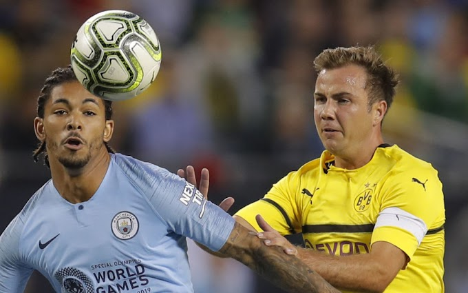 Man City's Sane determined after Germany World Cup snub