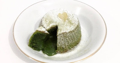 Resep Matcha Lava Cake