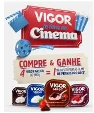 Promoção Vigor Te Leva Ao Cinema 2019