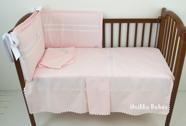 vestidura maxicuna rosa blanco