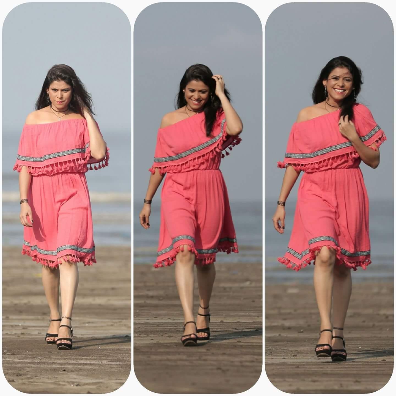 Ashvini mahangade in her beach side photoshoot - मराठीshoots