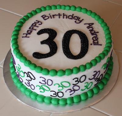 30th birthday cake ideas a2c