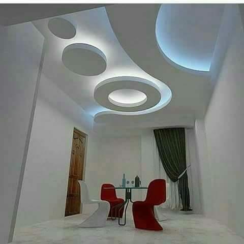 ديكورات جديدة لغرف النوم والأسقف ثم المجالس والأقواس العصرية 2018