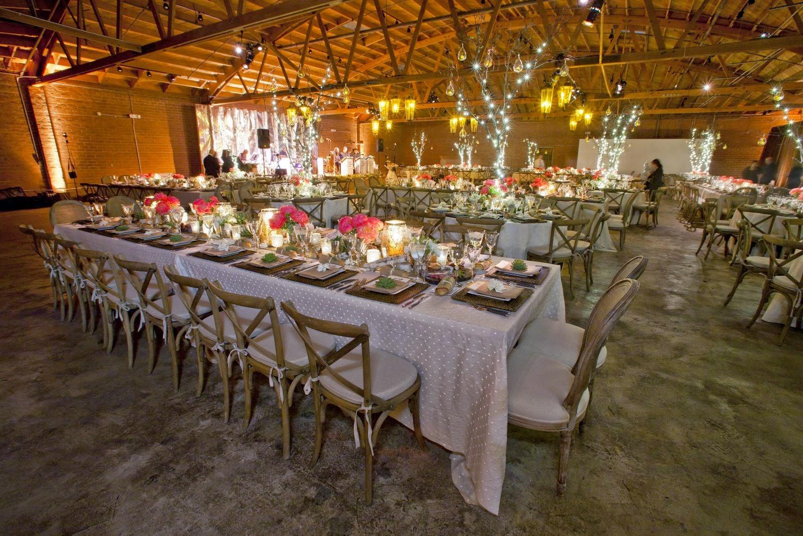 mesa comunitárias casamento