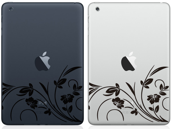 Flowers iPad Mini Decals