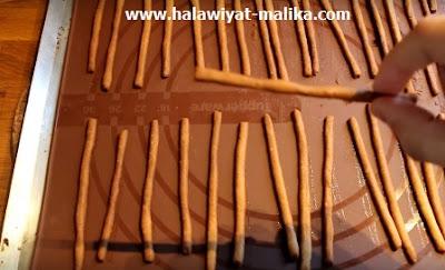 أصابع البسكويت بالشوكولاته Mikado maison