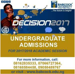 Babcock Admission Form