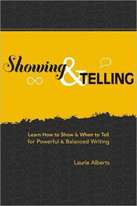 Portada de Showing & Telling de Laurie Alberts