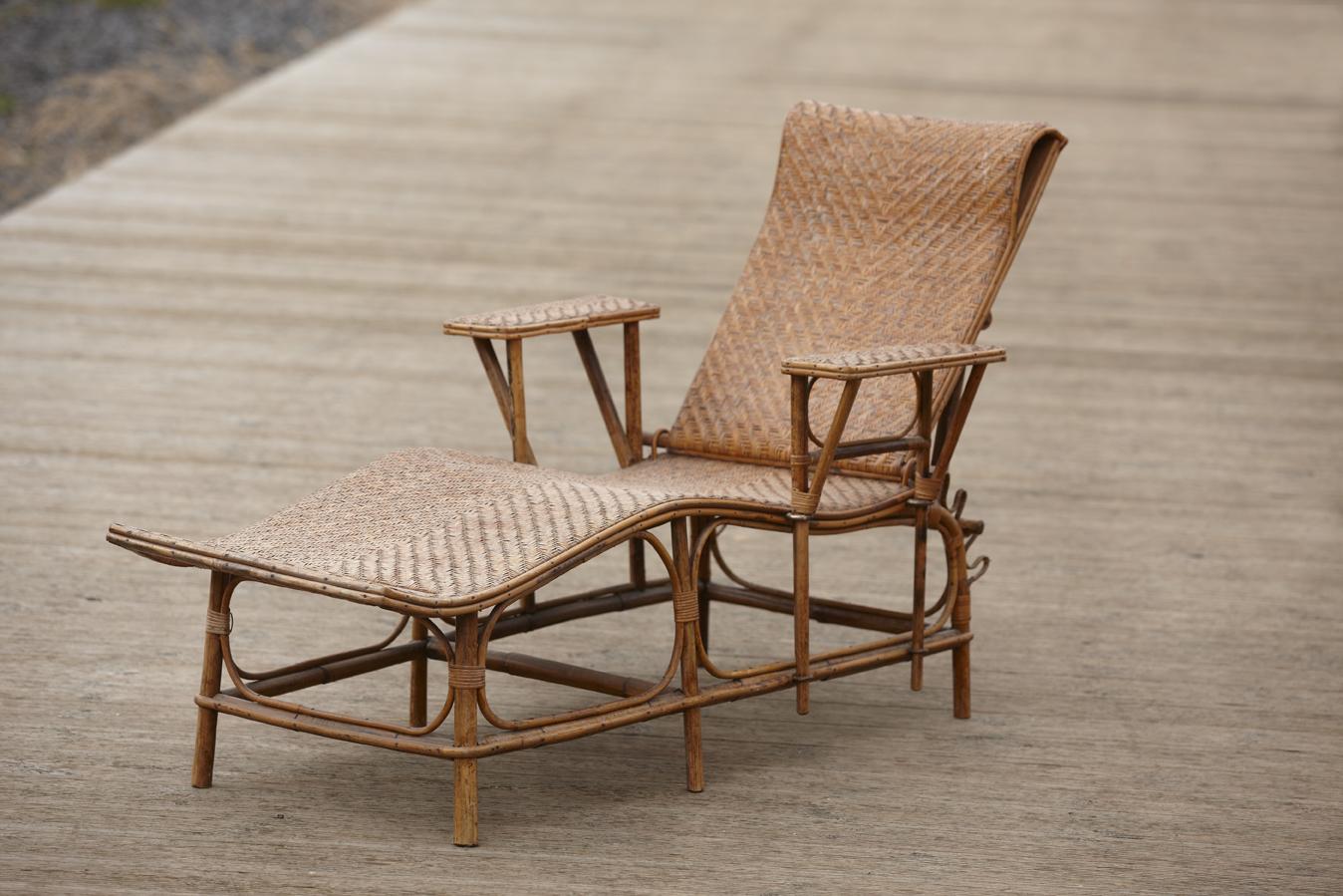 galerie vauclair la vogue du rotin the rattan vogue. Black Bedroom Furniture Sets. Home Design Ideas