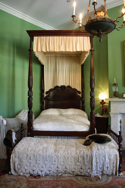 Bedroom from Interview with a Vampire at Destrehan Plantation