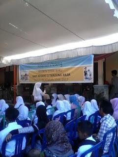 SMPN 2 Tanjung Raja Adakan Silaturahmi Pelajar