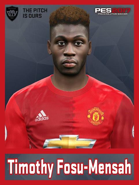 [PES17/16] Timothy Fosu-Mensah | Manchester United F.C.