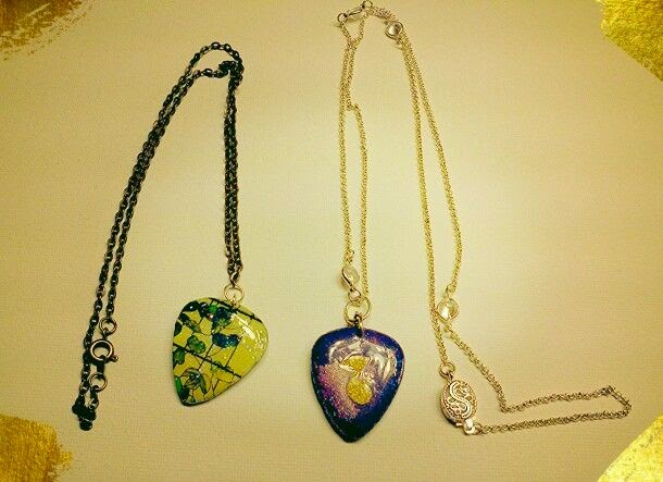 NEW Guitar Pick Necklaces!