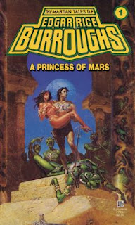 Retro Reviews: A Princess of Mars by Edgar Rice Burroughs
