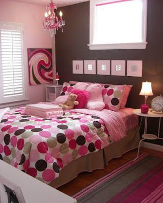 decoracion de cuartos rosa