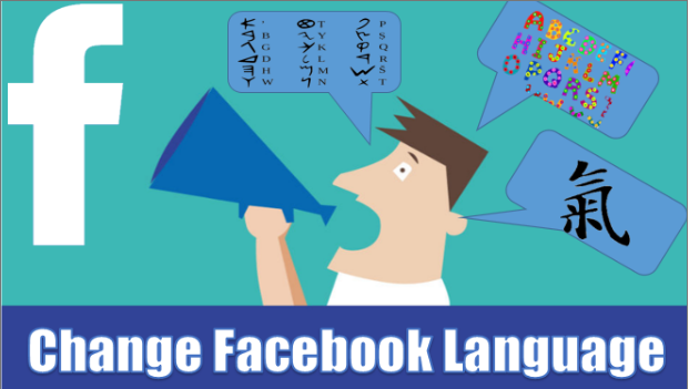 how to get my facebook back to english