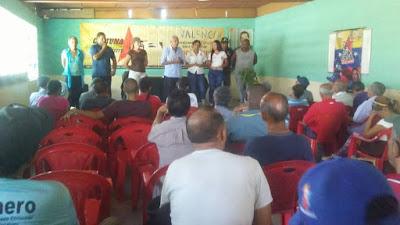 El Pueblo de Carabobo se Organiza para la Lucha Antiimperialista