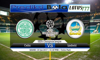 Prediksi Pertandingan antara Celtic vs Linfield 20 Juli 2017