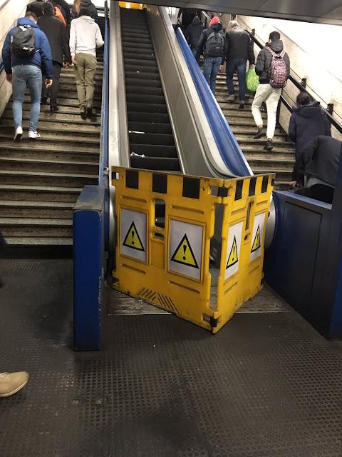 Le scale immobili!