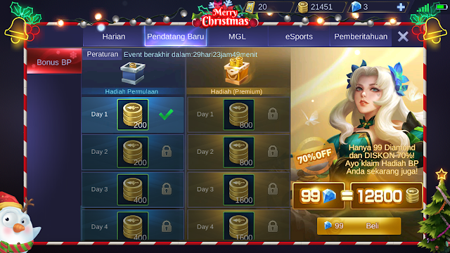 Cuma 99 Diamond Kamu Bisa Mendapatkan 12800 Betel Point Mobile Legends 2