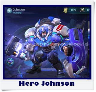 Hero Johnson Mobile Legends