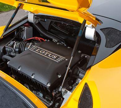 Motor de 6 cilindros sobrealimentado de 3.5 litros