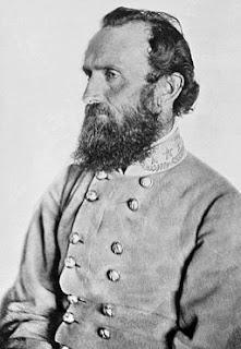 "(PHOTO) General Thomas J. ""Stonewall"" Jackson's ""Chancellorsville"" Portrait, taken at a Spotsylvania County farm on April 26, 1863, seven days before his mortal wounding at the Battle of Chancellorsville."