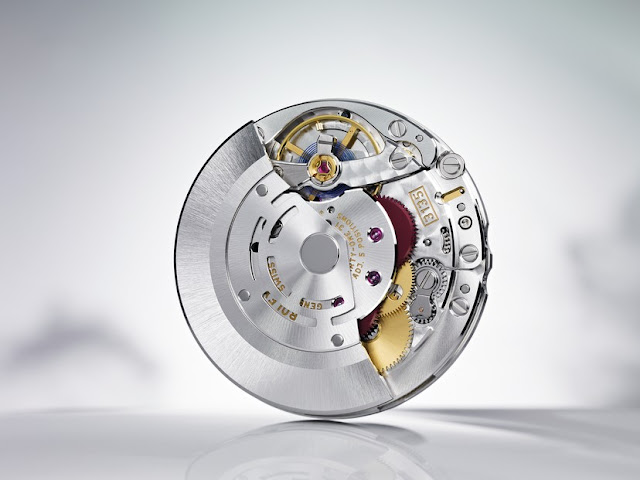 photo of rolex calibre 3135 movement