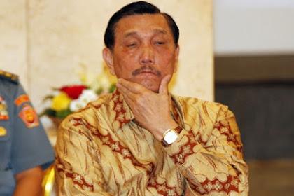 Luhut Mengancam Para Jenderal Purnawirawan ?