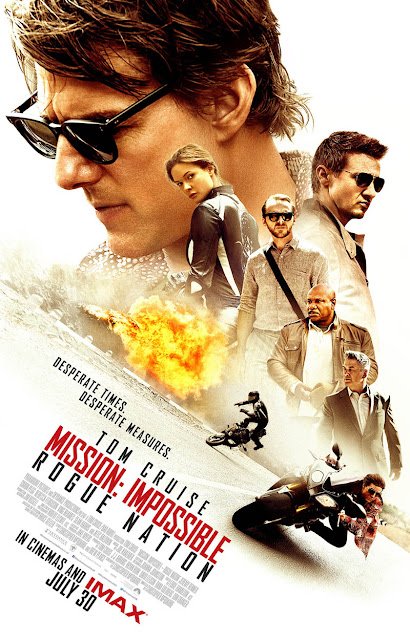 Mission Impossible 5 Rogue Nation recensione poster
