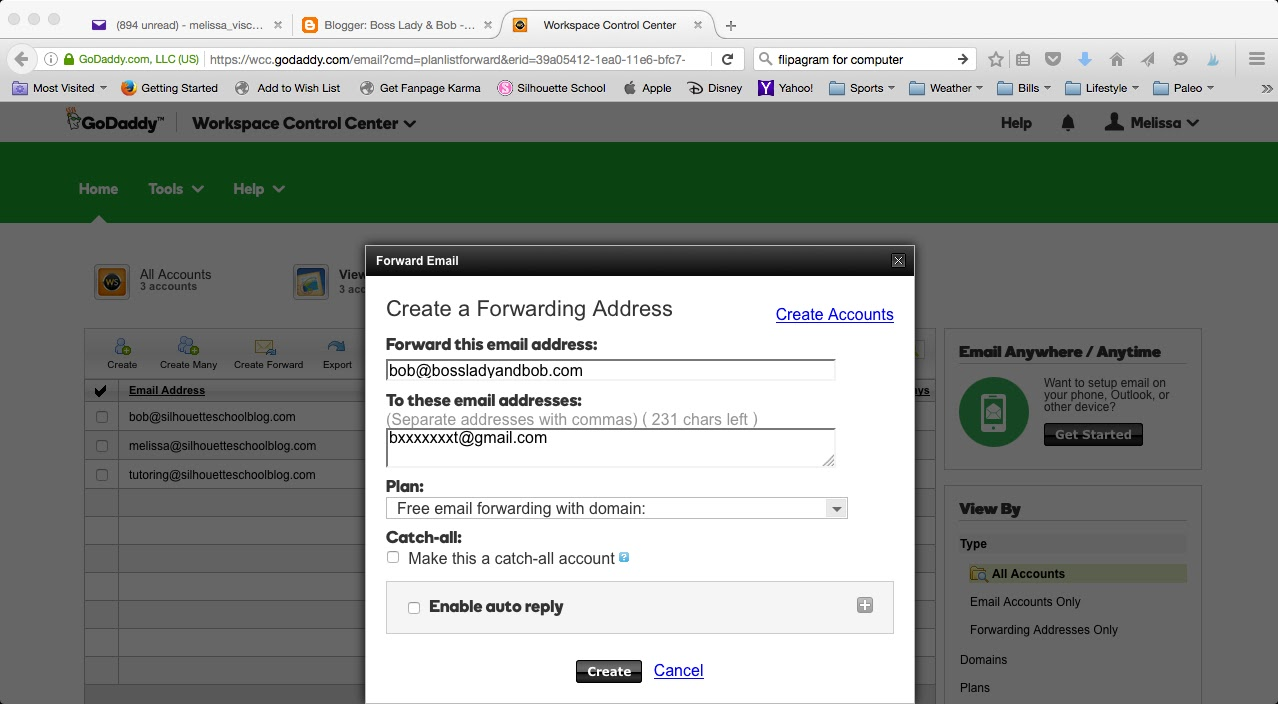 How to Be Cool and Get a Custom Email Address for Free! - Boss ...
