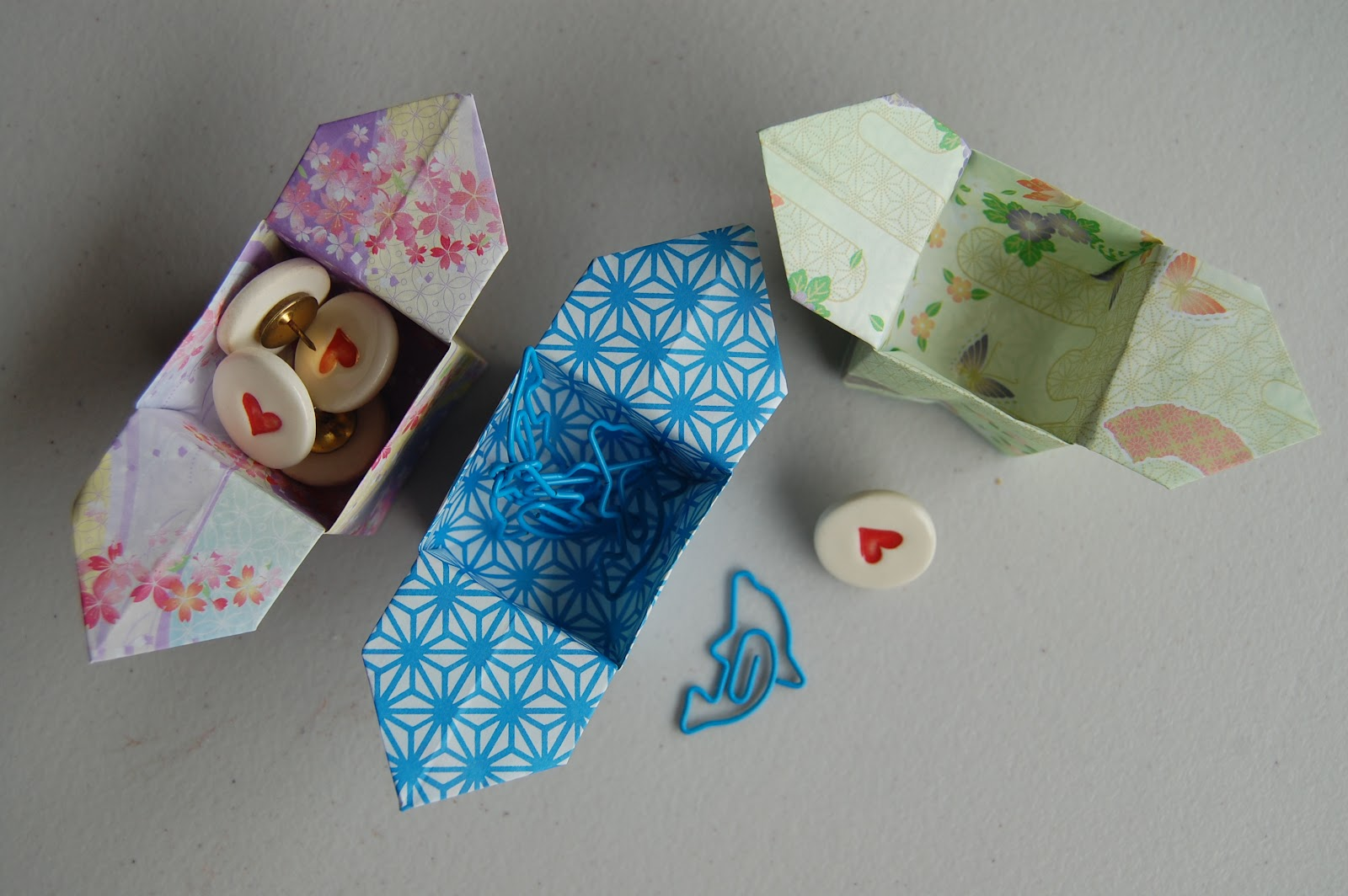 Easy Origami Candy Box Instructions | Origami ve Kutular | 1064x1600
