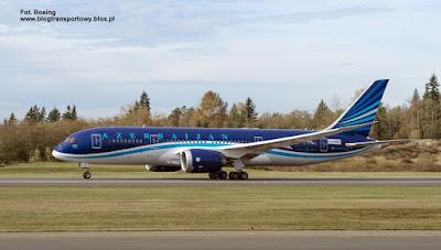 Boeing 787-8 Dreamliner, VP-BBR, AZAL Azerbaijan Airlines