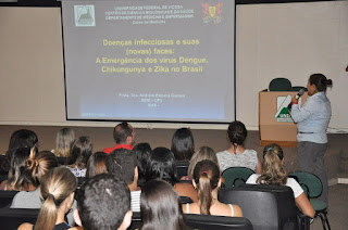 UNIFESO Teresópolis realizou conferência sobre doenças infecciosas e suas (novas) faces
