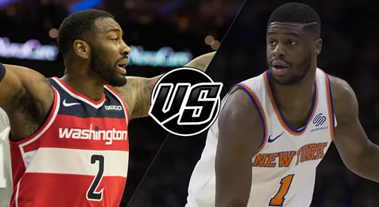 Live Streaming List: Washington Wizards vs New York Knicks 2018-2019 NBA Season