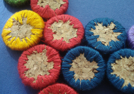 Recycled Wine Cork Jewelry Inspirations And Tutorial