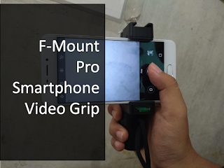aku telah mengulas salah satu alat yang aku gunakan untuk membantu perekaman video deng Review F-Mount Pro Smartphone Video Grip: Smartphone Mount yang Bisa ditambahi Macam-macam Aksesoris