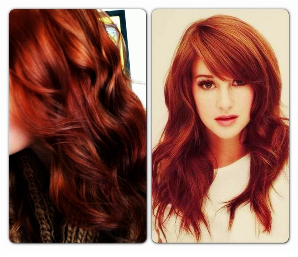 Love, Shelbey: New Hair: RED RED RED!