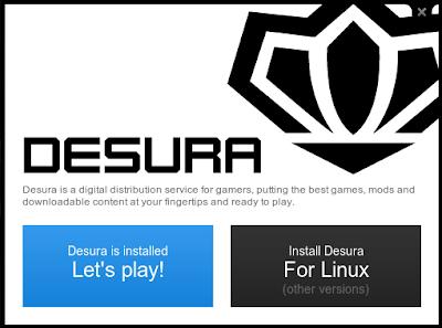 Desura >Desura (el Steam para Linux) ya tiene versión estable